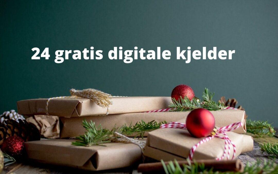 24 gratis digitale kjelder